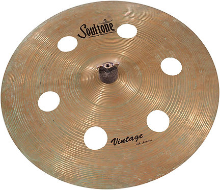 Soultone Vintage Old School -FXO6 Patina Finish Cymbals - Top View