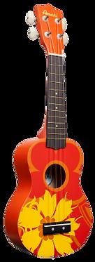 DDUK5 Ukulele -Orange Flower-Beginner