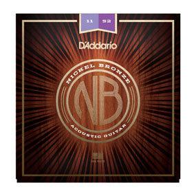 DA-NB1152-Nickel-Bronze Acoustic_Guitar Strings,Custom Light-11-52-Front