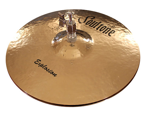 Soultone Cymbals High Hat Explosion Series Top View