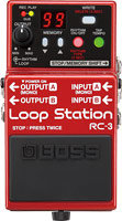 BOSS RC-3 Loop Station Front