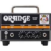Orange Amplifiers Micro Dark 20W Tube Hybrid Amp Head Front