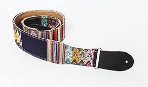 "Henry Heller Guitar Strap 2.5"" Wide -Black India-HS116-F"