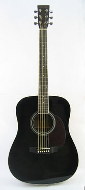 Tokai Cat's Eyes Acoustic Guitar CE25 - Black Shade