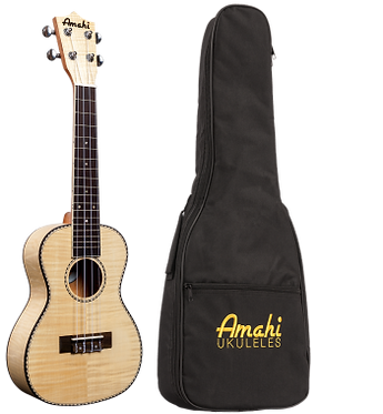 UK 550C-Flamed Maple Concert Ukulele
