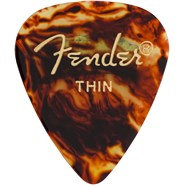 Fender 351 Classic Celluloid Guitar Pick Thin