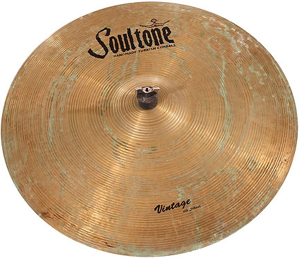 Soultone Vintage Old School (VOS64) Series - Crash-Ride Cymbal Patina