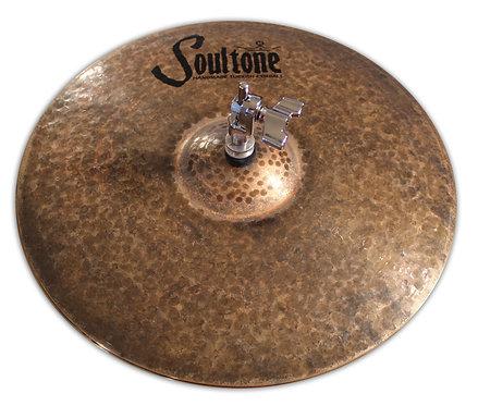 Soultone Natural High Hat Cymbals Top View
