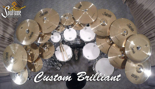 Soultone Cymbal - Custom Brilliant All Sizes