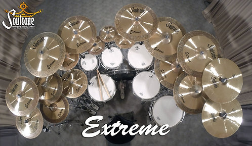 Soultone Extreme  Series Cymbals - All Sizes Top View
