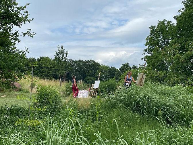 Meditatives Malen im Garten der Seele mit Andrea Linzer