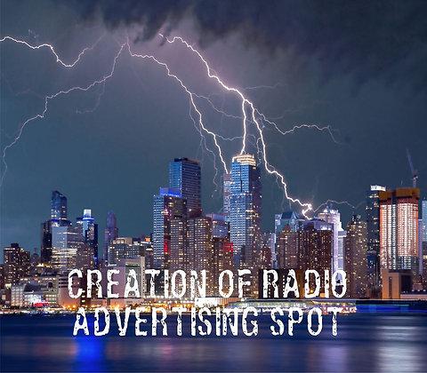 Creation of Radio Advertising Spot
