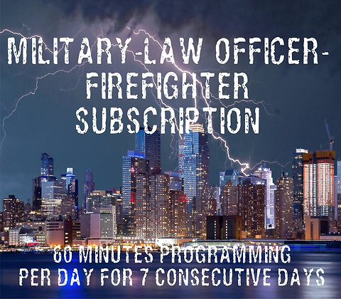 Military-Law Officer-Firefighter Subscription - 60 Min/7 Days