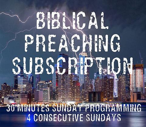 Biblical Preaching Subscription