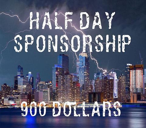 HALF Day Sponsorship