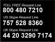 Telephone Request Line Numbers - 03-12-2