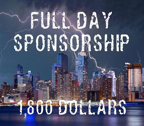FULL Day Sponsorship