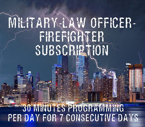 Military-Law Officer-Firefighter Subscription - 30 Min/7Days