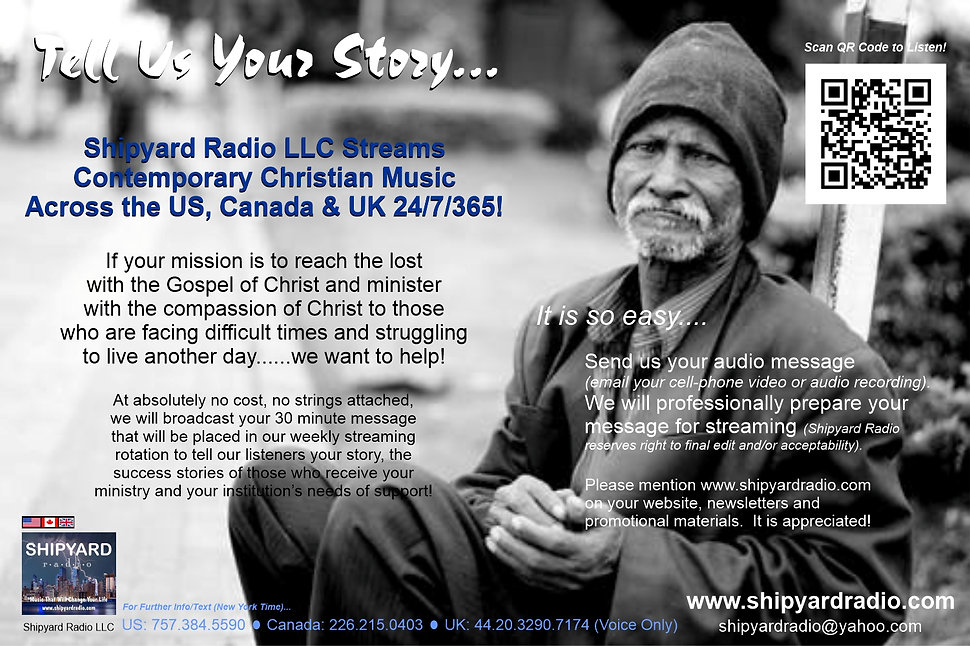 Homeless Shelter Ad - Shipyard Radio - 0