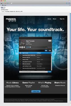 eBlast / Myspace