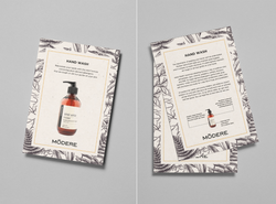 Product Info Cards / Modere