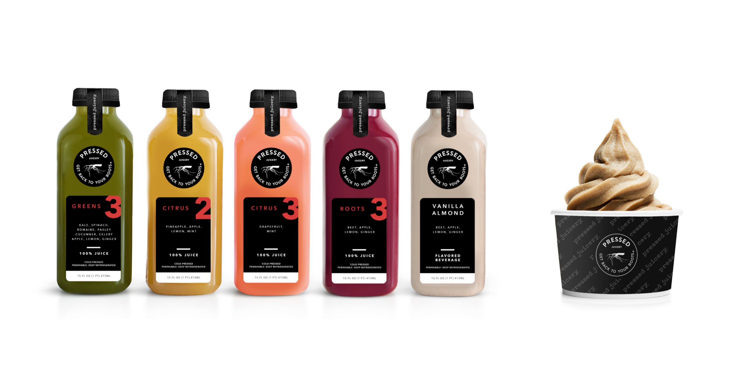Packaging Design / Press Juicery