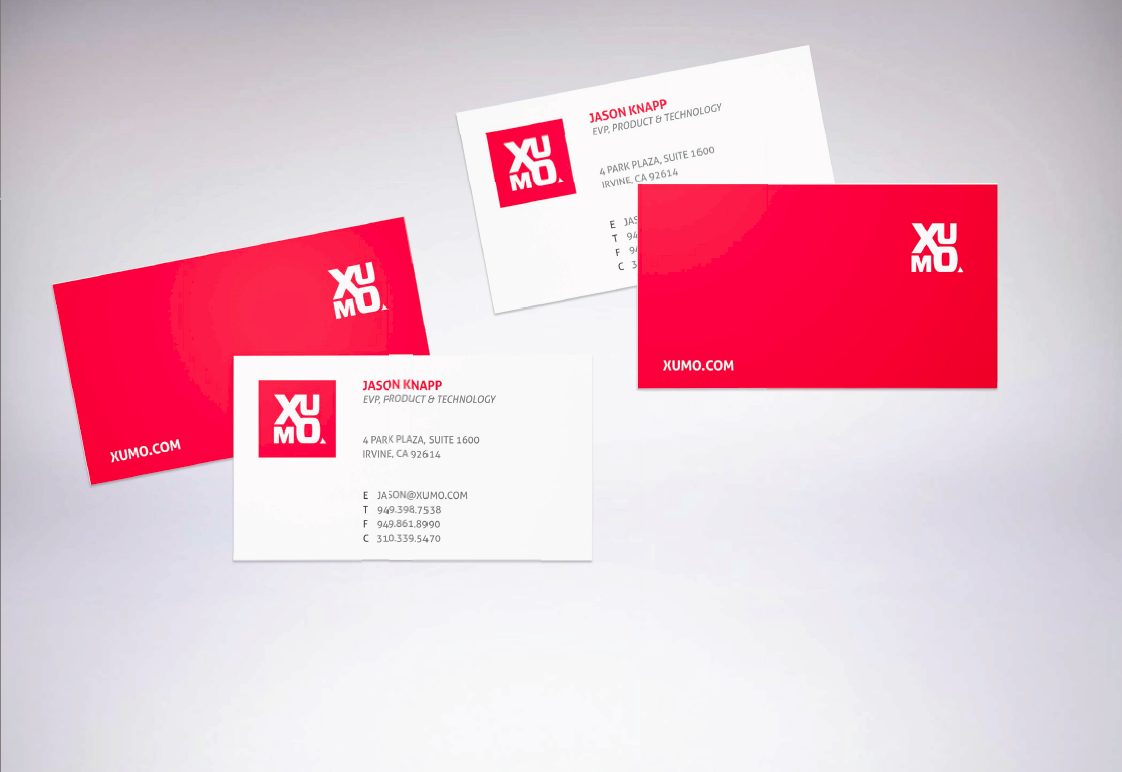 Business Cards / Xumo