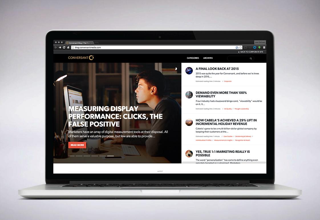 Blog / Conversant