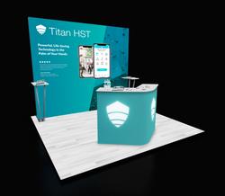 Titan HST Tradeshow Booth