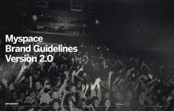 Brand Guidelines / Myspace