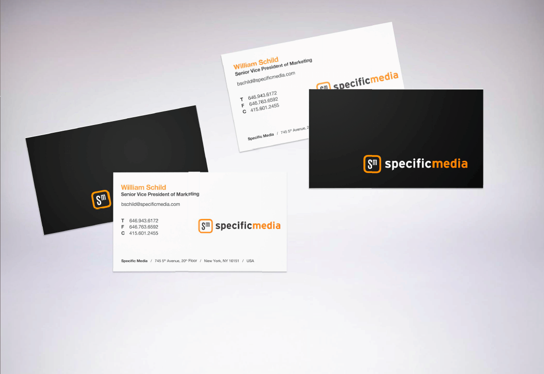 Business Cards / Specific Media