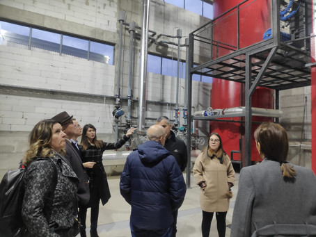 """Visit to the wood processing company """"Pelengić Trade"""" for energy efficiency mapping"""