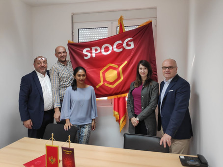 Visit to Montenegrin Association of honey producers