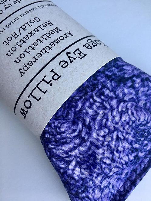 Lavender Eye Pillow in Purple Petals
