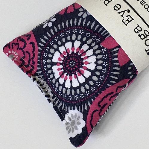 Raspberry Medallion Eye Pillow