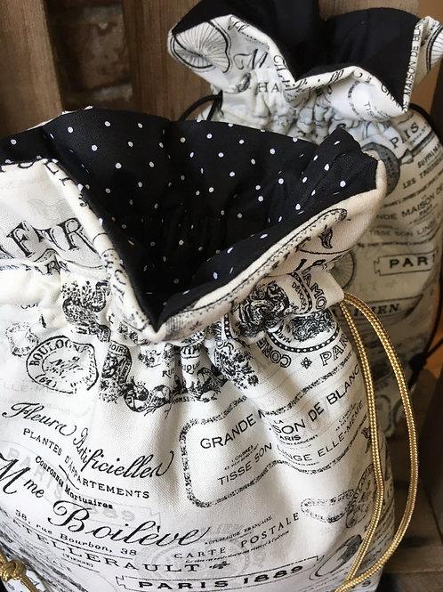 Paris Print Bag