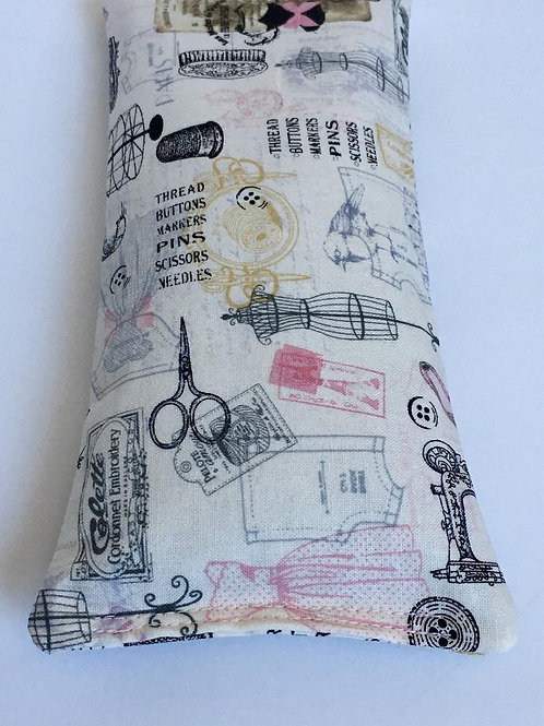 Parisian Sewing Room Eye Pillow