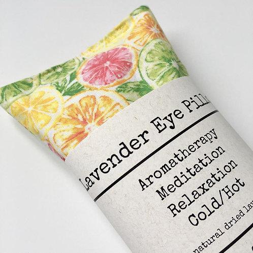 Lemon Lime Slices Eye Pillow