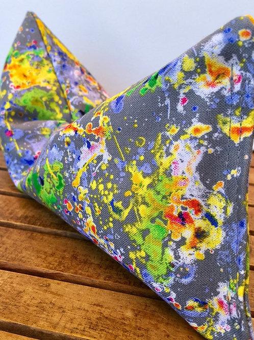 Paint Splatter Lavender Eye Pillow