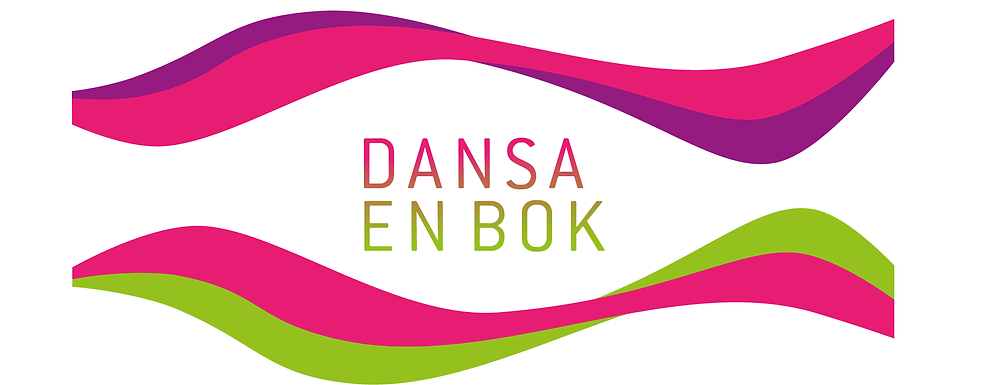 Dansa en bok Logotype