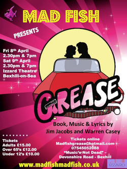 Grease MF Poster