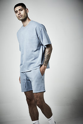 Mens unisex box crew with binding - Pigment wash - 5 - 7 weeks to complete