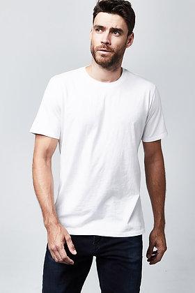 Organic Crew Neck T-Shirt - White