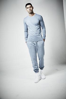 Men's unisex Long Sleeve crew   - Pigment wash - 5 - 7 weeks to complete