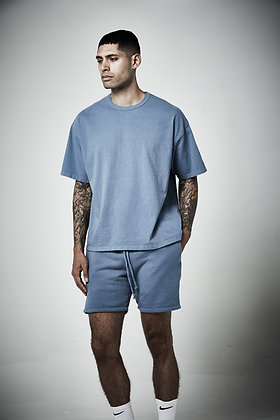 Mens unisex box crew with binding -Reactive wash - 5 - 7 weeks to complete