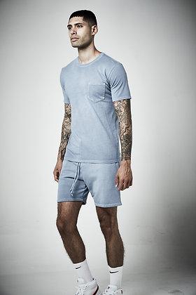 Mens unisex Fleece shorts  - Pigment wash - 8 - 10 weeks to complete
