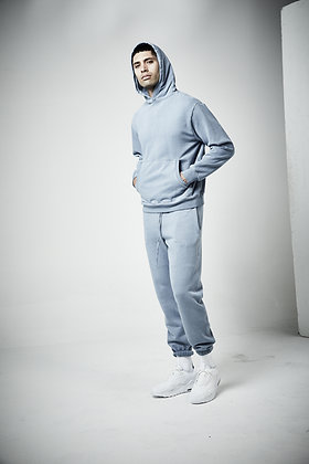 Mens unisex Fleece track pant  - Pigment wash - 8 - 10 weeks to complete