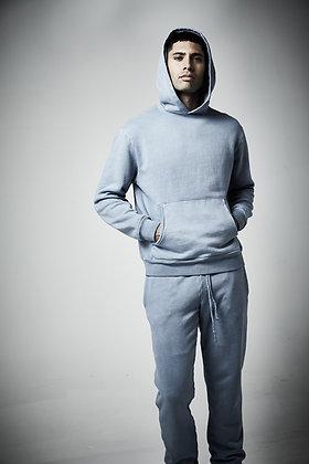 Mens unisex Fleece hoodie - Pigment wash - 8 - 10 weeks to complete