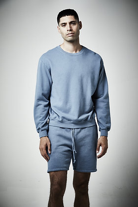 Mens unisex Fleece  Crew neck  sweater - Reactive wash- 8 - 10 weeks to complete