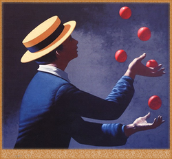 Going for the Juggler